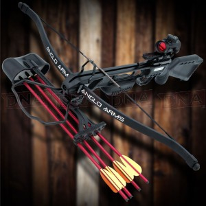 175lb Black 'Jaguar' Crossbow With Dot Sight