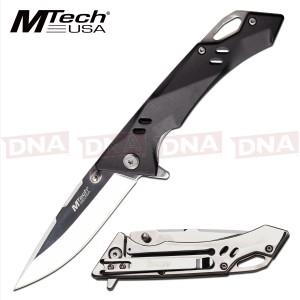 MTech USA MT-1142BK Ball Bearing Mirror Framelock Knife