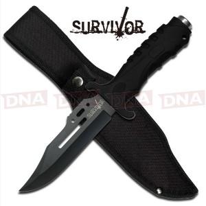 Survivor HK-1036S Straight Edge Fixed Blade Knife