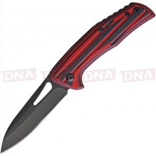 BenchMark BMK120 Slip Joint EDC Knife - Red Open