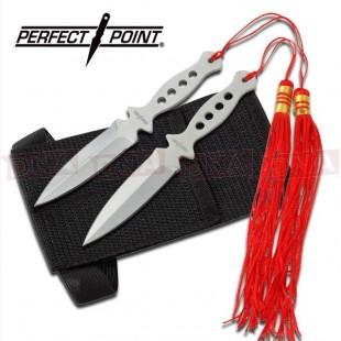 2pc Tassel Throwing Knife Set