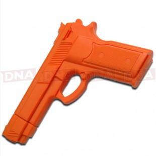 Orange Rubber Training Gun
