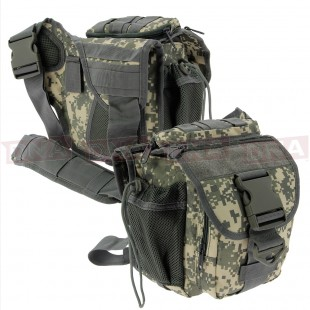 Golan Tactical Digicam Shoulder Sling Bag Front and Back