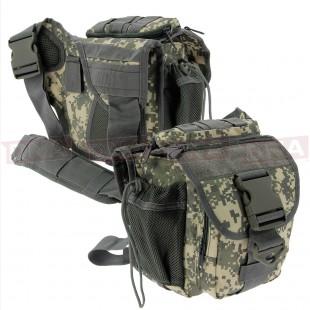 Golan Tactical Digicam Shoulder Sling Bag Front and Back