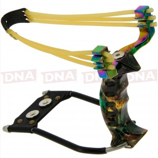 High Velocity Rainbow Slingshot Set Up