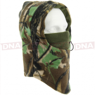 Deluxe Camouflage Snood with Face Mask