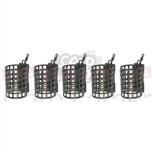 5x 15g Round Cage Metal Feeders
