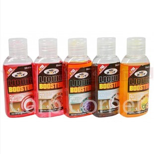 5x 50ml Liquid Glug Booster (Mixed Flavours)