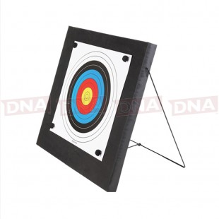 60 x 60 x 4.8cm Foam Archery Target with Metal Support