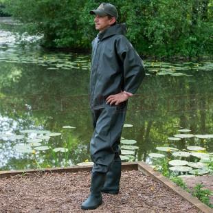 Heavy Duty PVC Full Body Waders Dry Suit 7 8 9 10 11 12