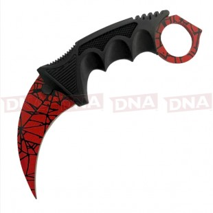 Anglo Arms Red Hawk Bill Karambit Fixed Blade