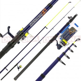 Angling Pursuits Telescopic Beachcaster Combo Seet