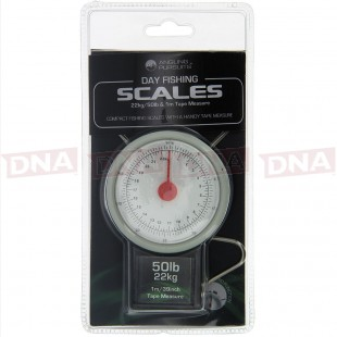 Angling Pursuits Day Scales 22kg-50lb with Tape Measure