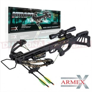 Armex 165lb Mirage Compound Crossbow with Scope