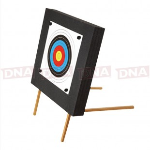 60 x 60 x 10 Foam Archery Target with Wooden Support