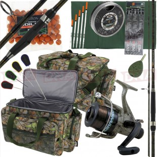 Camo Carp Fishing Setup Main