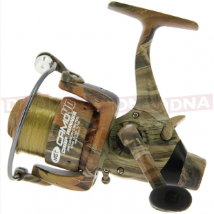 Camo40 3BB 'Carp Runner' Reel With 12lb Line + Spare Spool