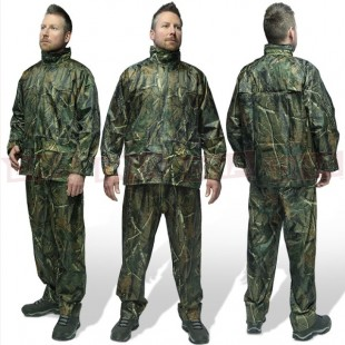 2pc Quick On Camo Rainsuit Available in M, L, 2XL & 3XL