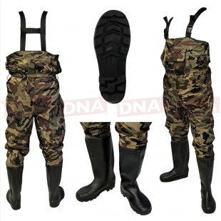 Camouflage Nylon Chest Waders Main Image