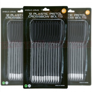 "Pack Of 36 Plastic 6.5"" Crossbow Bolts"