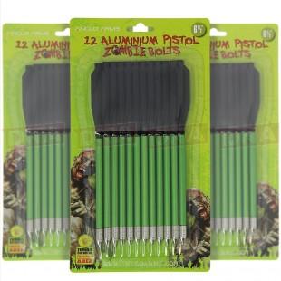 "Pack of 12 Aluminium 6.5"" Crossbow Bolts"