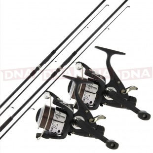 Choose Either 2 or 3 12ft 2pc Carp Rods with 2x or 3x Reels