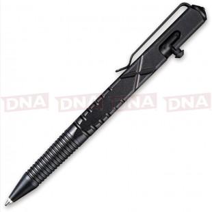 Civivi CIVCP01B C-Quill Aluminium Bolt Action Pen in Black