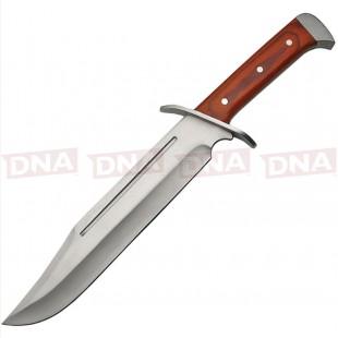 CN211397 Wood Bowie Knife with Sheath