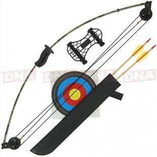 Perfect Line 15lb Light Compound Bow Set