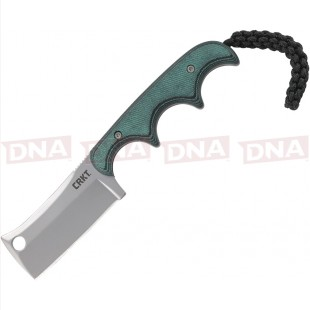 CRKT CR2383 Minimalist Cleaver Neck Knife Fixed Blade Open