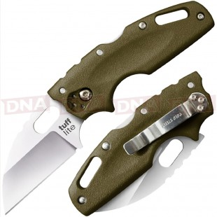Cold Steel CS-20LTG Tuff Lite Lockback Knife OD Green