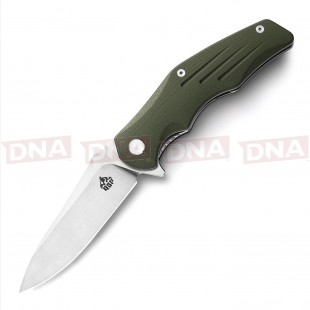QSP D2 Tank Ball Bearing Knife - OD Green Open Main