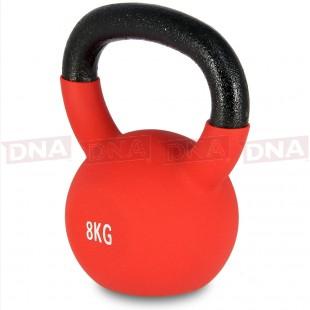 DNA Basics 8Kg Vinyl Coated Kettlebell