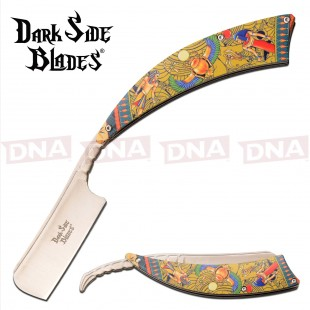 Dark Side Blades DS-082EG Straight Razor - Egyptian Artwork
