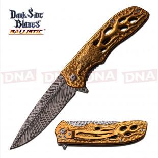 DSB Gold Eagle Spring Assisted Knife