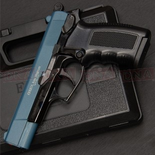 Ekol Aras Magnum 9mm Black/Blue Blank Firing Pistol