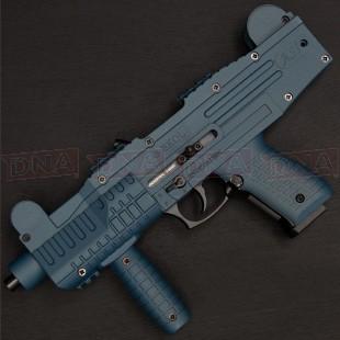 Ekol ASI 9mm PAK Black/Blue Blank Firing Submachine Pistol