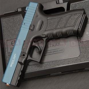 Ekol Gediz 9mm Black/Blue Blank Firing Pistol