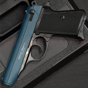 Ekol Majarov 9mm Black/Blue Blank Firing Pistol