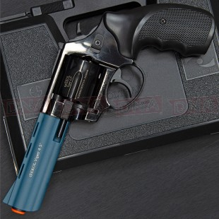 "Ekol Viper 4.5"" 9mm Black/Blue Blank Firing Pistol"
