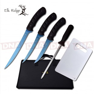 Elk Ridge Hunting/Kitchen Knife Set