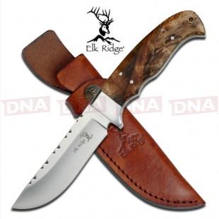 Elk-Ridge-Polished-Fixed-Blade-Knife