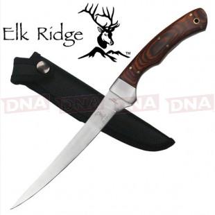 Elk Ridge ER-028 Pakkawood Filleting Fixed Blade Knife