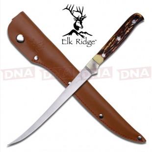 Elk Ridge Simulated Bone Filleting Knife