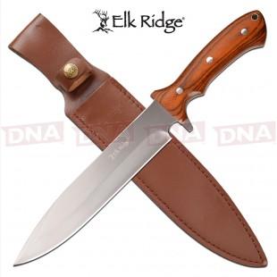 Elk Ridge ER-200-25BR Fixed Blade Knife