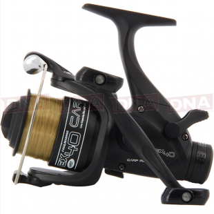 EX40 4BB Twin Handle 'Carp Runner' Reel With 8lb Line + Spare Spool