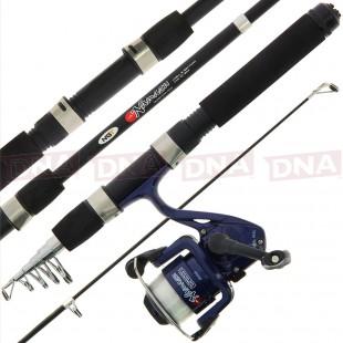 Namazu Combo - Mini 5ft Travel Telescopic Rod & Reel