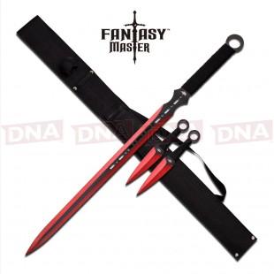 Fantasy-Master-Sword-Set-Red
