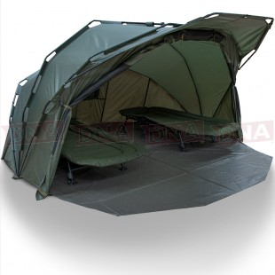 NGT XL Fortress with Hood - 2000mm Super Sized 2 Man Bivvy
