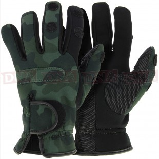 NGT Neoprene Gloves in WD Camo